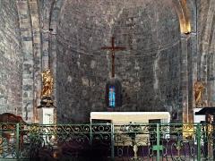 Eglise -  Le Castellet (Var - France) - Autel de l'église de la Transfiguration