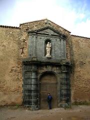 Ancienne chartreuse de la Verne -  Chartreuse de la Verne - Entrance
