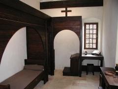 Ancienne chartreuse de la Verne -  Chartreuse de la Verne - A frias housing inside