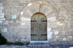 Chapelle de style roman (vieille) -  La Garde, Var (Provence) - Porche de l'ancienne église Notre-Dame de La Garde du XXIIe siècle