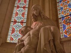 Chapelle Saint-Charles-Borromée de la Pauline -  La Vierge et le Christ, Eglise Saint Charles Borromée