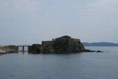 Batterie du Pradeau, dite aussi la Tour Fondue -  La Tour fondue à Hyeres