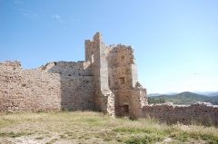 Château - English: The ruins of the castle of Hyères.