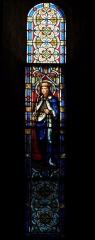 Eglise Saint-Louis - Deutsch: Bleiglasfenster in der Kirche Saint-Louis in Hyères, Darstellung: hl. Ludwig