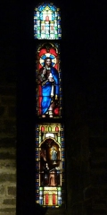 Eglise Saint-Louis - Deutsch: Bleiglasfenster in der Kirche Saint-Louis in Hyères, Darstellung: Jesus