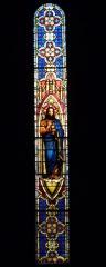Eglise Saint-Louis - Deutsch: Bleiglasfenster in der Kirche Saint-Louis in Hyères, Darstellung:?