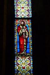 Eglise Saint-Louis - Deutsch: Bleiglasfenster in der Kirche Saint-Louis in Hyères, Darstellung: hl.?