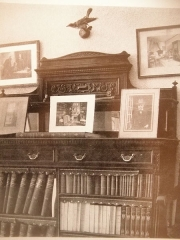 Propriété dite Le Plantier de Costebelle - English: Bibliothèque en 1919