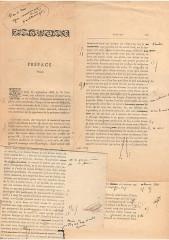 Propriété dite Le Plantier de Costebelle -  Manuscrit original