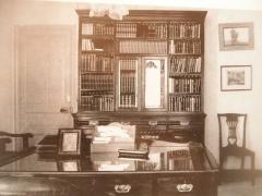 Propriété dite Le Plantier de Costebelle - English: Bureau d'un écrivain vers 1916