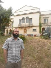 Propriété dite Le Plantier de Costebelle - English: Grégory Bouak en 2014