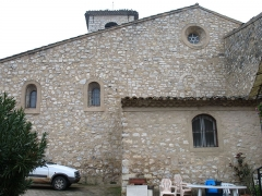 Eglise - English: Ollières - Var - France - Saint-Anne church (frontside)
