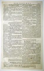 Eglise  et tour attenante - English: 1663 A. D., Leyden. States – General Bible. Printer, Johan Elzevir.