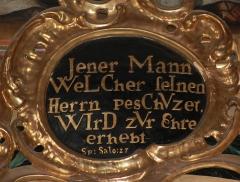 Eglise  et tour attenante - English: Parish church St. Jakob in Villach - Joseph-Altar