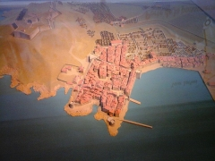 Citadelle - English: Plan-relief of st-Tropez