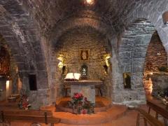 Chapelle Notre-Dame de la Pépiole - Français:   La chapelle Notre-Dame de Pépiole  située à Six-fours est l\'un des plus vieux monuments paléochrétiens de France