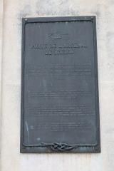 Musée de la Marine - Français:   Plaque de la porte de l\'Arsenal, Toulon