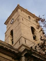 Cathédrale Sainte-Marie-de-la-Seds -  Clocher de la Cathédrale de Toulon. Décembre 2006.