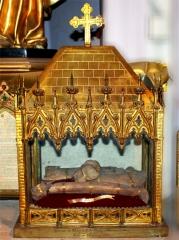 Cathédrale Sainte-Marie-de-la-Seds - Français:   Situé aux pieds de la statue du saint, en la cathédrale Sainte-Marie (ND de la Seds) de Toulon (Var - France)