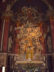 Cathédrale Sainte-Marie-de-la-Seds -  Retable by Christophe Veyrier in Toulon Cathedral (18th century)