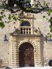 Château et son parc - English: Entrance of the Ansouis castle
