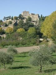 Château et son parc -  Ansouis vue générale