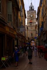 Porte de Saignon -  Apt. Dans les rues de la vieille ville.