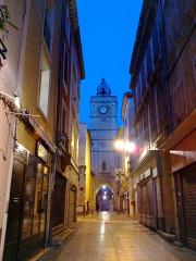 Tour de l'Horloge -  Luberon Apt Rue Saint-Pierre