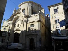 Eglise Saint-Martial, devenue Temple Protestant -  Avignon