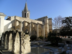 Eglise Saint-Martial, devenue Temple Protestant -  Avignon, France