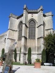 Eglise Saint-Martial, devenue Temple Protestant - Français:   Avignon, Temple Saint-Martial, Abside.