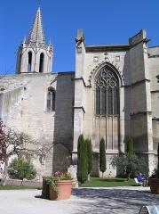Eglise Saint-Martial, devenue Temple Protestant - Français:   Avignon, Temple Saint-Martial.