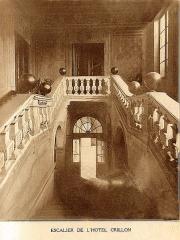 Hôtel Crillon - Intérieur de l'Hôtel des ducs de Crillon