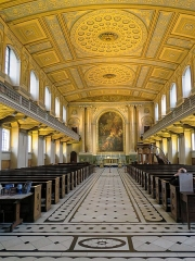 Hôtel de Montfaucon - English: The nave of the Chapel of St Peter and St Paul looking east, at the Old Royal Naval College, (Royal Naval College), previously Greenwich Hospital, in Greenwich, London, England.  Mobile device view: Wikimedia (as at 2018) makes it difficult to view photos related to this image, so to see its most relevant allied group, click: Chapel of St Peter and St Paul, Greenwich Hospital (interior). To see the subject galleries for Acabashi photos, please click: Photos by Acabashi. Desktop view: Wikimedia (as at 2018) makes it difficult to immediately view the helpful category links where you can find images to which this one is relevant in a variety of ways; for these go to the bottom of the page.  This image is one of a series of date and/or subject allied consecutive photographs kept in progression or location by file name number and/or time marking. Camera: Canon PowerShot SX60 HS. Software: file lens-corrected and optimized with DxO PhotoLab Elite and Viewpoint 3, and further optimized with Adobe Photoshop CS2.