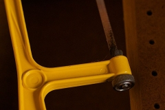 Hôtel de Montfaucon - English: @dailyshoot: 2010/06/26: Today's color is yellow. Find something that's yellow in color and make a photograph of it. #ds223  Part of a hacksaw hanging around in the shed.