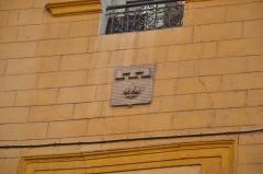 Immeuble dit maison du roi René - Blason du comte-roi