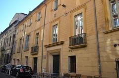 Immeuble dit maison du roi René - Façade restaurée
