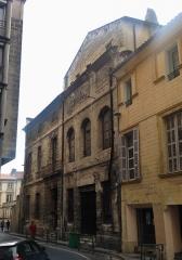 Immeuble dit maison du roi René - Maison du Roi René, n 6 de la rue Grivolas en Avignon.