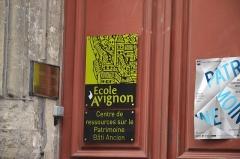 Immeuble dit maison du roi René - Siège de l'École d'Avignon