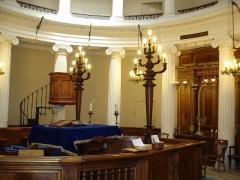 Synagogue -  Salle de priere, Synagogue d'Avignon, Vaucluse, France