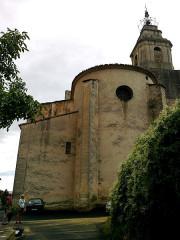 Eglise -  Vaucluse Bedoin Eglise Saint-Pierre Chevet
