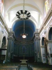 Eglise -  Vaucluse Bedoin Eglise Saint-Pierre Nef