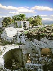 Fort (vestiges du) - Fort médiéval ruiné de Buoux