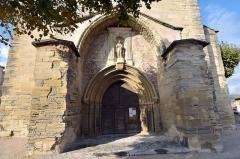 Eglise - Deutsch: Caromb, Église Saint-Maurice