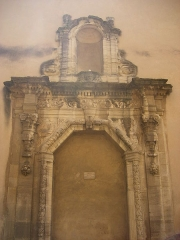 Palais épiscopal -  Ancient portal in Carpentras