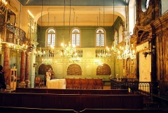 Synagogue - English: Synagogue in Carpentras, France - interior