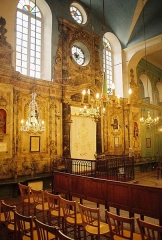 Synagogue - English: Synagogue in Carpentras, France - Torah ark