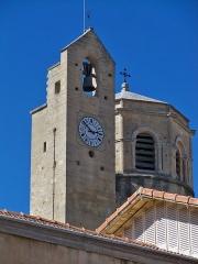 Ancienne cathédrale, puis église paroissiale Saint-Véran - Français:   Clocher de l\'église Saint Véran de Cavaillon, Vaucluse, France