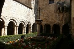 Ancienne cathédrale, puis église paroissiale Saint-Véran - Cloitre de la cathèdrale Saint Véran à Cavaillon.
