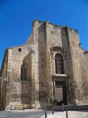 Ancienne cathédrale, puis église paroissiale Saint-Véran - Français:   Facade de l\'église Saint Véran de Cavaillon, Vaucluse, France